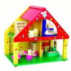 Развивающая игра разноцветный дом
