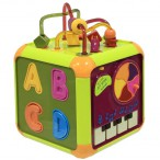 Развивающая звуковая игрушка куб
