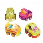 Набор из 4 игрушечных машинок