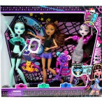 Набор кукол монстр хай Monster High (3шт)