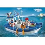 Рыбацкая лодка Playmobil
