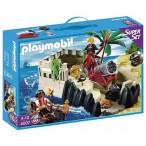 Playmobil супер набор пиратская крепость