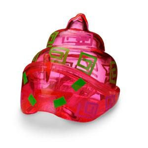 Розовая раковина для крабика Ша-Ша