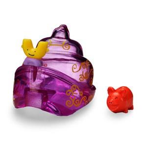 Фиолетовая раковина Для крабиков Ша-Ша