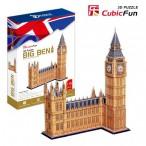 Пазлы объёмные 3D. Биг Бен (Великобритания).