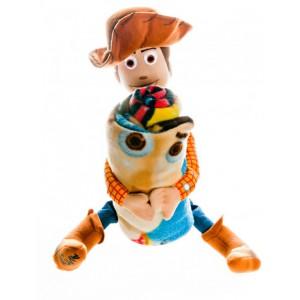 Игрушка с пледом Шериф Вуди