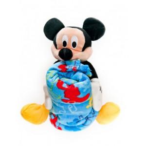 Игрушка с пледом «Микки Маус»