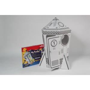 Картонный домик Ракета
