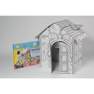Пряничный картонный домик