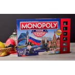 Настольная игра Monopoly Россия (новая уникальная версия)