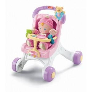 Каталка-коляска «Розовая прогулка» от Fisher-Price